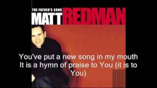 Watch Matt Redman Justice And Mercy video