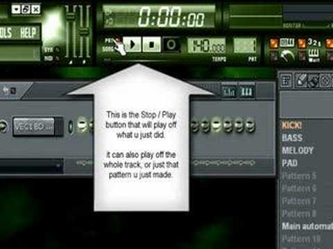 Fruity loops tutorial for very beginners