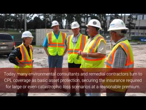Contractor Pollution Liability Insurance