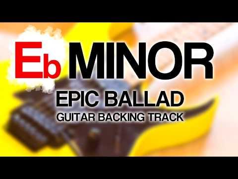 Tore Fagerheim - E Minor 80s Power Ballad Guitar Backing Track