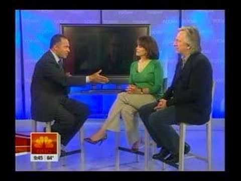 Alan Rickman and Sigourney Weaver on Today 04-28-2007