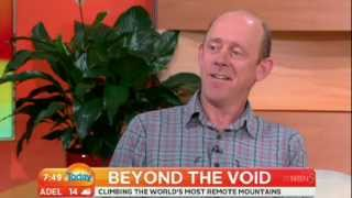 Mountaineer Simon Yates on Weekend Today - 1 Jul 2012