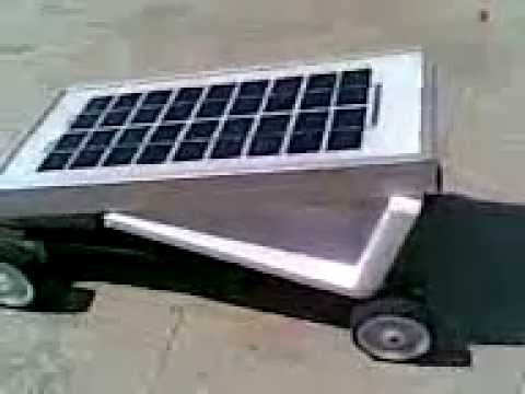 SOLAR CAR SMALL  IAR  INSTITUTE OF ADVANCED ROBOTICS