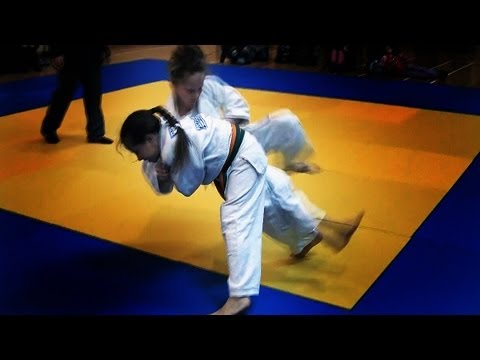 One girl - many fights (winning judo throws / ippons from age of 7 to age of 10) Image 1