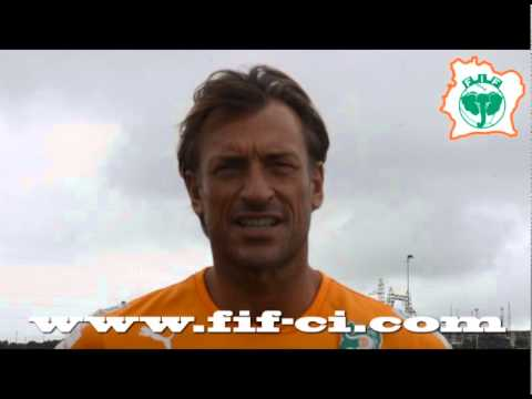 INTERVIEW DE M. HERVE RENARD STAGE DE PRÉPARATION ÉLÉPHANTS SENIOR A'