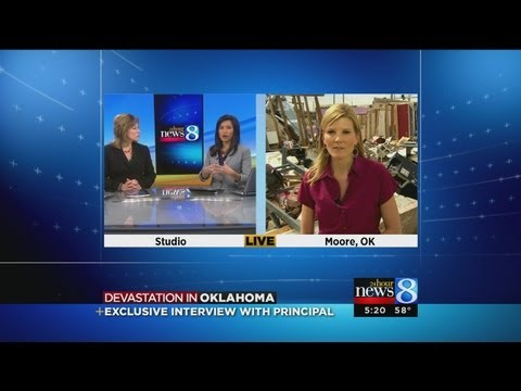 Interview with NBC's Kate Snow in Oklahoma
