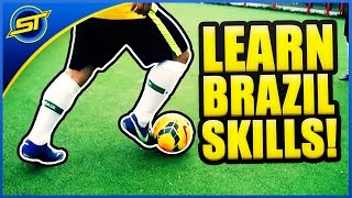 Learn Amazing World Cup Brazil Skills 2014 ★ HD ( Neymar Skills Ronaldinho Skillsl )