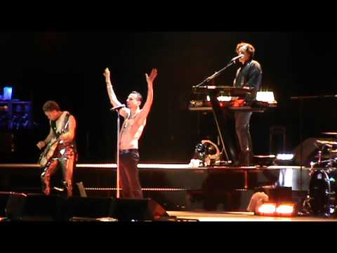 Depeche Mode - Never Let Me Down @ Athens 10-5-2013