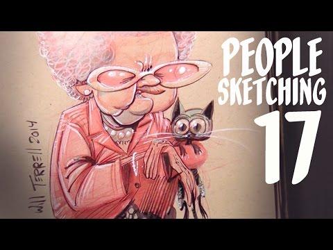 Living on Purpose - people sketching episode 17
