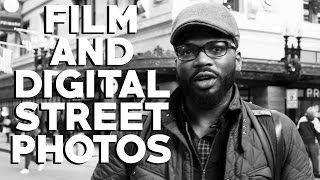 FILM AND DIGITAL STREET PHOTOGRAPHY: Nikon FG-20 and Olympus OMD EM5 with Jourdan Christopher