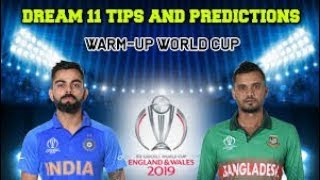Live: Ind vs Ban Warm-up I World cup 2019 I Live score