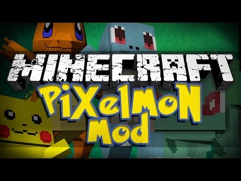 Minecraft Mod Showcase: Pixelmon 2.5.1 -  NEW STARTERS AND MORE!
