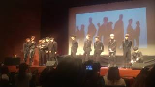Woozi's Ver of DOWNPOUR-IOI  Full Ver. |210117 Myeongdong Fansign