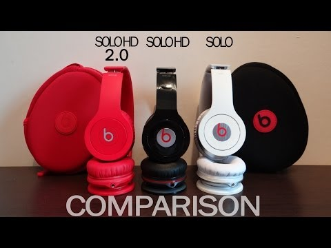 Old Beats Solo HD 2 vs Solo HD vs Solo - Comparison