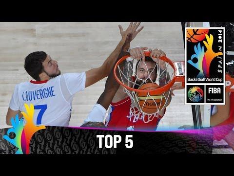 Top 5 Plays 12 September 2014 FIBA Basketball World Cup