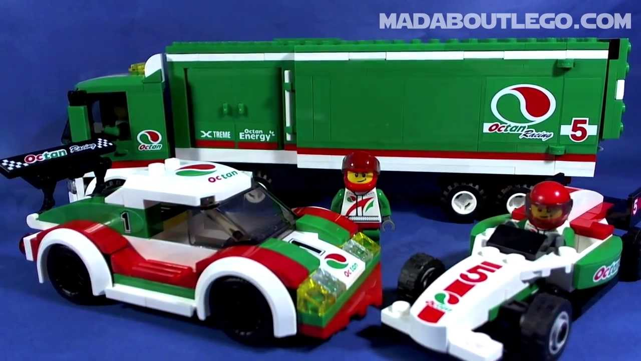 LEGO CITY RACE CAR 60053 - YouTube
