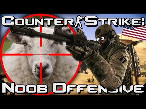 Counter Strike: Noob Offensive - Baby Steps - Episode 2!