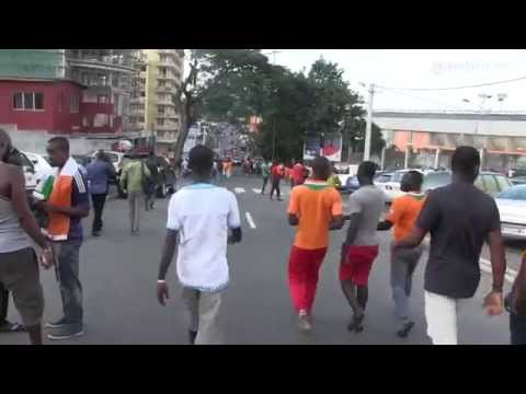 Football: Côte d'Ivoire / Congo vu par un supporter