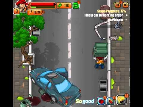 Обзор игрового процесса флеш-игры Кровавое приключение (Bloodbath Adventure gameplay)
