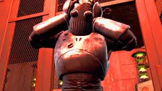 Fallout 4 - Killing the Mechanist as the Silver Shroud - Unique Dialogue