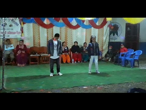 Best jhaure hiphop dance in school programs _ choreography by Bishal Thapa | Alpha dance crew