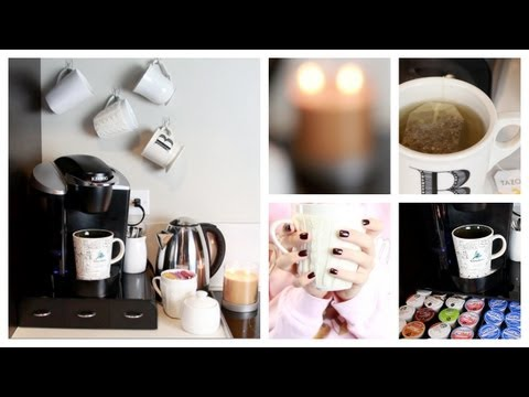 Diy: At Home Coffee & Tea Bar! video
