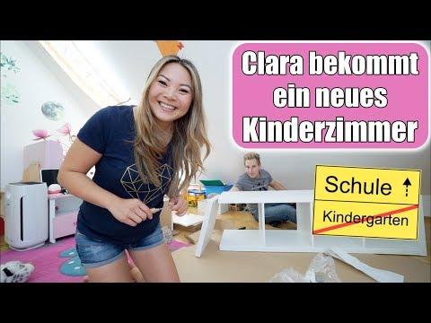 Claras Kinderzimmer gestalten