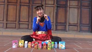 Trò chơi bóc kẹo Socola – Bóc kẹo Doremon ❤ BIBI TV ❤
