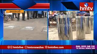 Electric bollards installed at Hyderabadand#39;s Charminar by GHMC