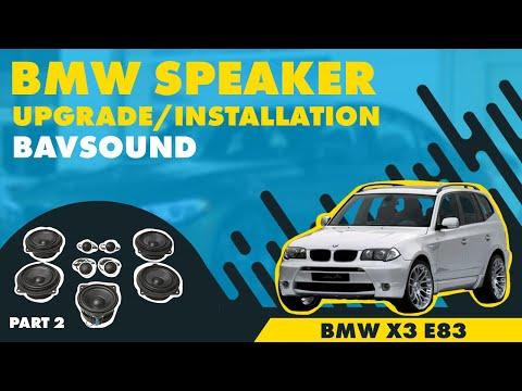 2/2: BMW X3 (E83) - Bavsound