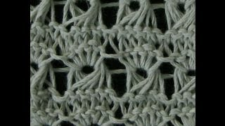 Knitted Broomstick Lace