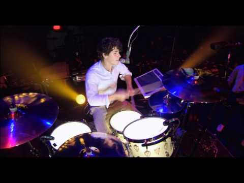 Jonas Brothers - Video Girl (Concert) + Drums Competition HD Music Videos