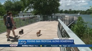 Fishing ban proposal along boardwalk