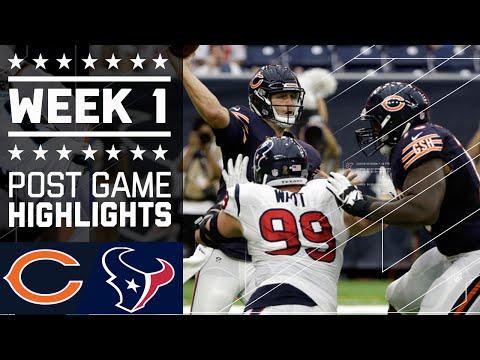 Bears Vs Texans Nfl Week 1 Game Highlights