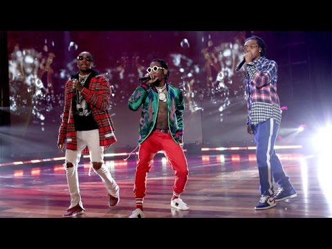 Migos Performs 'Bad and Boujee'!