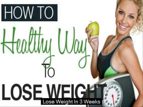 Crash Diet To Lose Weight In 3 Weeks