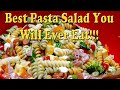 Recipe for the Best, But Most Expensive, Pasta Salad, That You Can Make in the Winter or Summer!