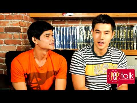 PEPtalk. Steven Silva and Carl Guevera reveal views about keeping showbiz relationship a secret