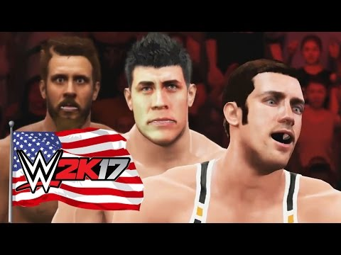 REAL AMERICAN HEROES - WWE 2k17 Gameplay