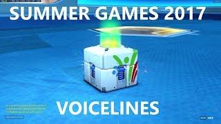 Overwatch 2017 Summer Games ALL VOICELINES!