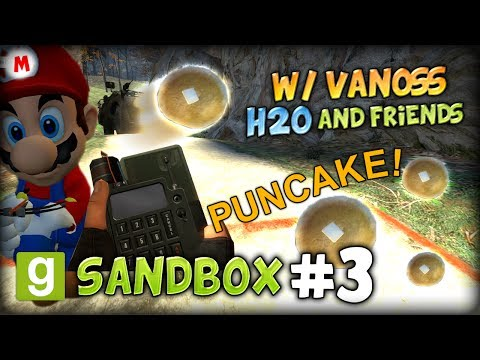 GMOD SANDBOX #3 (w/ VanossGaming, H2O and Friends) - HILARIOUS PUNCAKES AND EXPLOSIONS