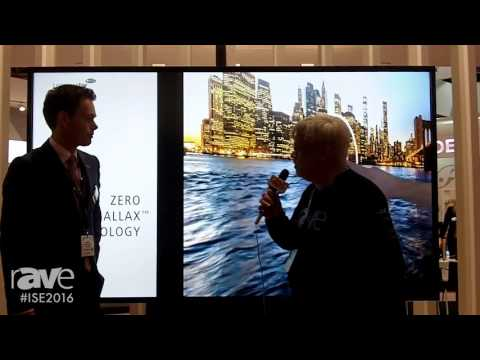 ISE 2016: Joel Rollins Interviews Maarten Benis of Legamaster About Multi-Touch Ultra HD Display