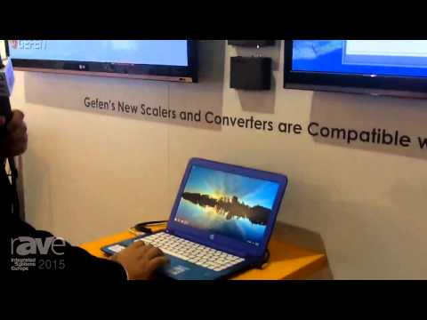 ISE 2015: Gefen Demonstrates Their Synergy Software Using Gefen Scalers and Converters