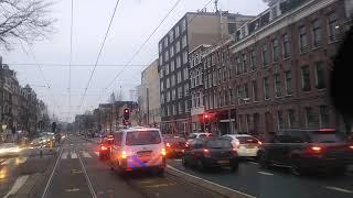 Spoedje de Jordaan in over trambanen, best druk onderweg #dmvda