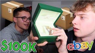I Bought A $100,000 Mystery Box From eBay