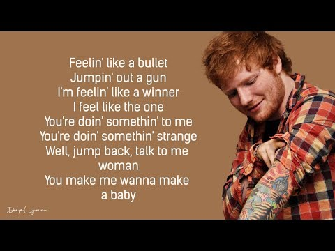 Ed Sheeran - BLOW (Lyrics) Feat. Chris Stapleton & Bruno Mars