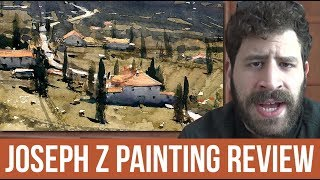 Joseph Zbukvic Watercolor Painting Review | Painting Masters 2