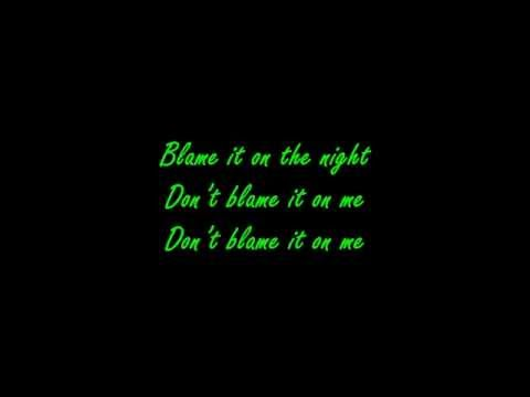 Calvin Harris  Blame ft John Newman Lyrics