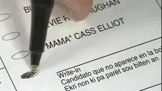 Así se vota electrónicamente en Estados Unidos (Florida)
