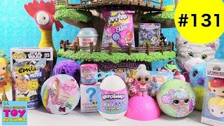 Blind Bag Treehouse #131 Unboxing Hatchimals Num Noms Disney Squishies | PSToyReviews